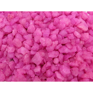 Dekosteine - Granulat pink 500g medium - ca. 5mm