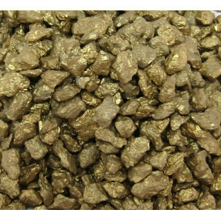 Dekosteine - Granulat gold 500g medium - ca. 5mm