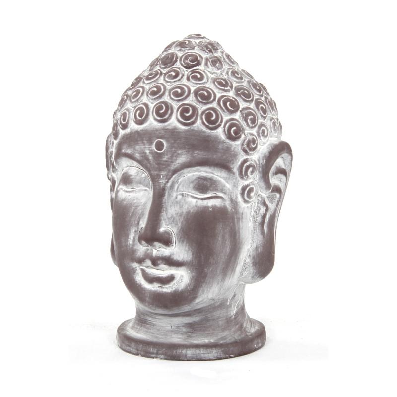 jetzt kaufen deko figur buddha kopf der daro deko online shop deko aus leidenschaft deko. Black Bedroom Furniture Sets. Home Design Ideas