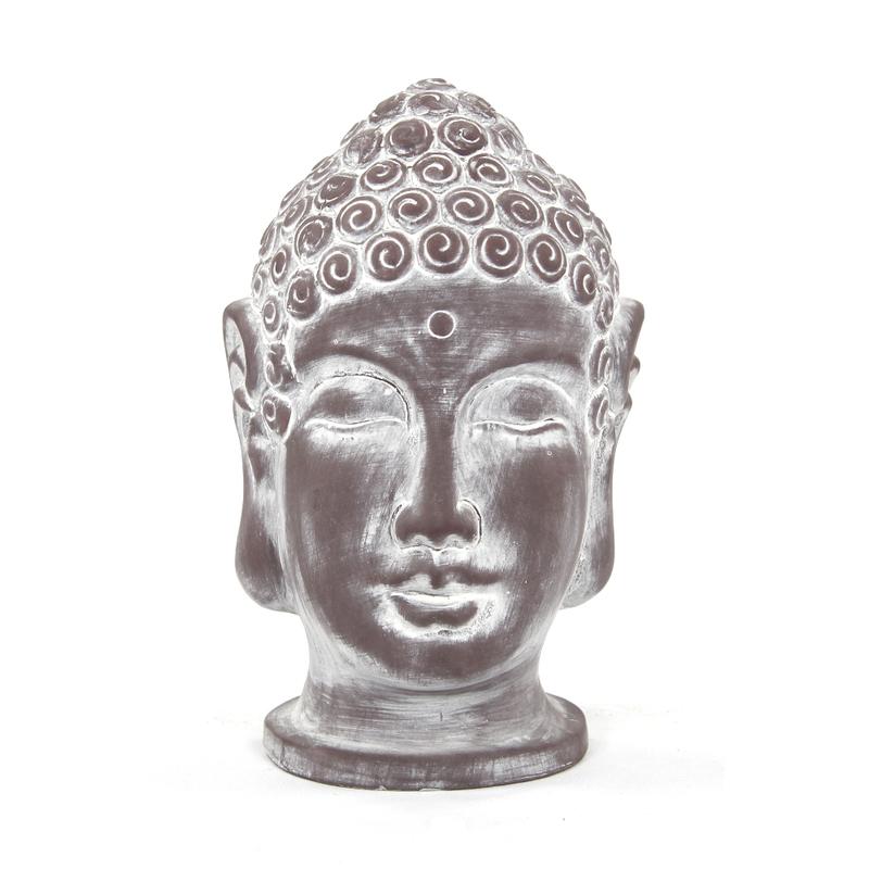 Deko Figur Buddha Kopf Gro 26cm 1 St Ck 8 99
