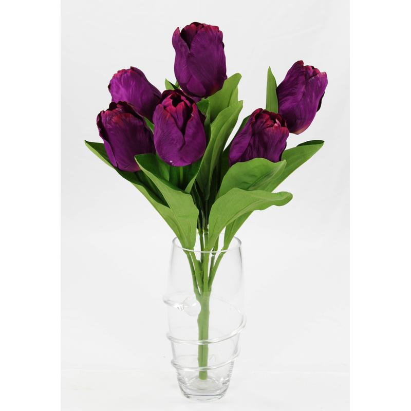 jetzt kaufen kunstpflanze tulpe strau mit 7 bl ten. Black Bedroom Furniture Sets. Home Design Ideas