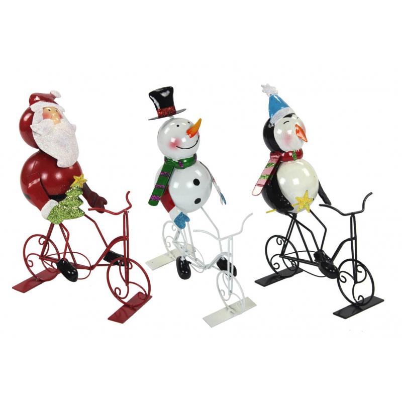 Jetzt kaufen metall deko figur mit fahrrad der daro for Metall deko shop