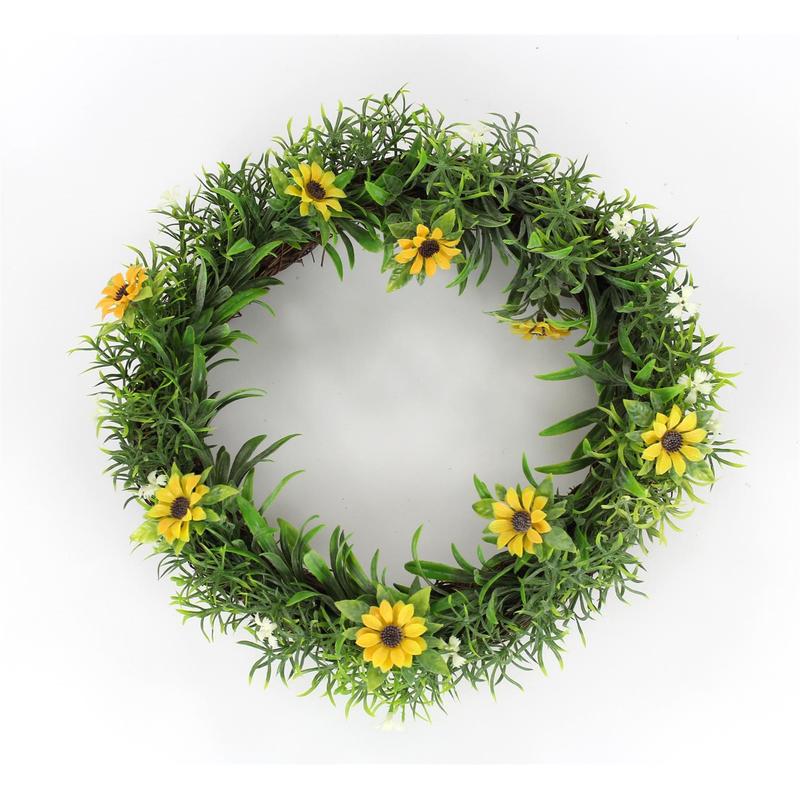 Jetzt Kaufen! Deko Kranz Sonnenblume Groß Ø 30 Cm