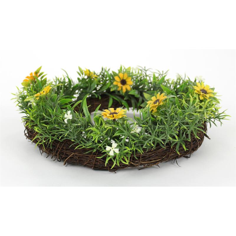 jetzt kaufen deko kranz sonnenblume gro 30 cm der daro deko online shop deko aus. Black Bedroom Furniture Sets. Home Design Ideas