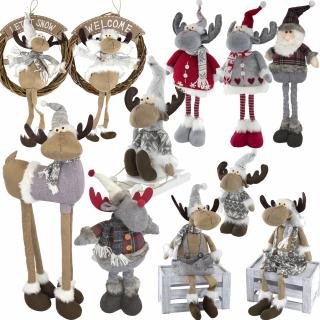 Deko Figuren weihnachtliche deko figuren aus stoff 6 99 der daro deko on