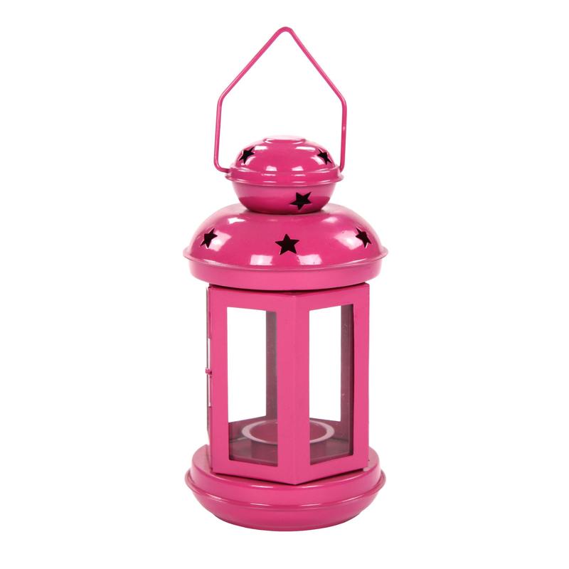 jetzt kaufen teelicht laterne 1 st ck gro pink der daro deko online shop deko aus. Black Bedroom Furniture Sets. Home Design Ideas