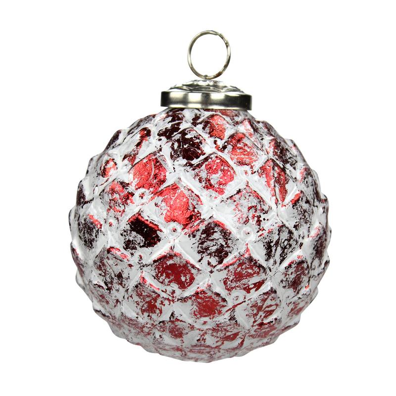 glas weihnachtskugeln 4 st ck ananas 10cm rot 10 99 e. Black Bedroom Furniture Sets. Home Design Ideas