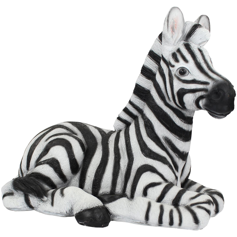 deko figur afrika zebra 46cm 59 99 der daro deko. Black Bedroom Furniture Sets. Home Design Ideas