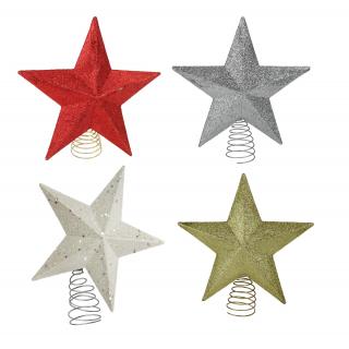 Stern Auf Weihnachtsbaum.Jetzt Kaufen Weihnachtsbaum Stern Spitzen Der Daro Deko Online