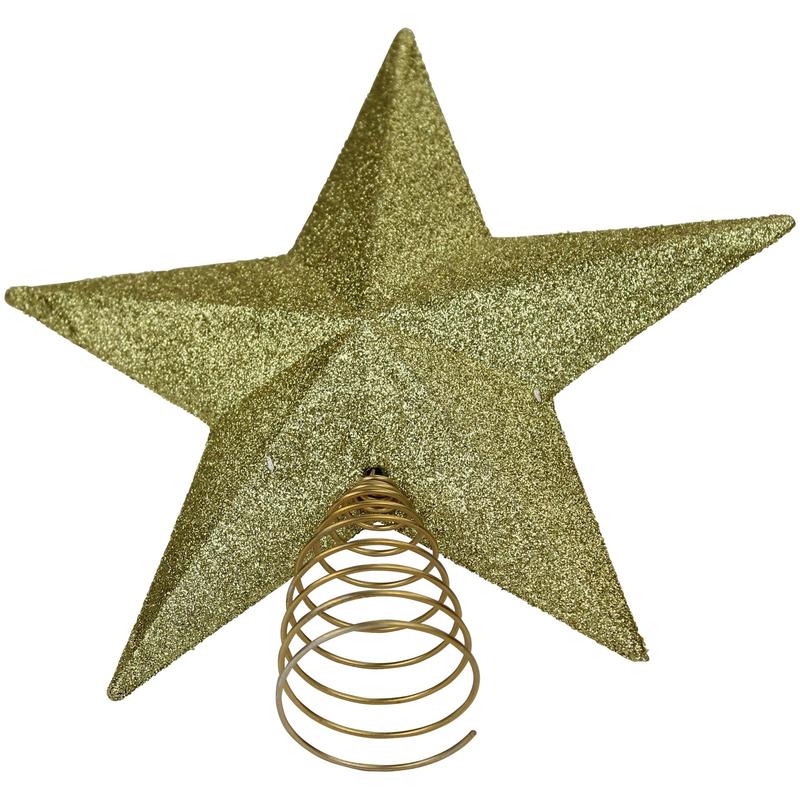 jetzt kaufen weihnachtsbaum stern spitzen gold der daro. Black Bedroom Furniture Sets. Home Design Ideas