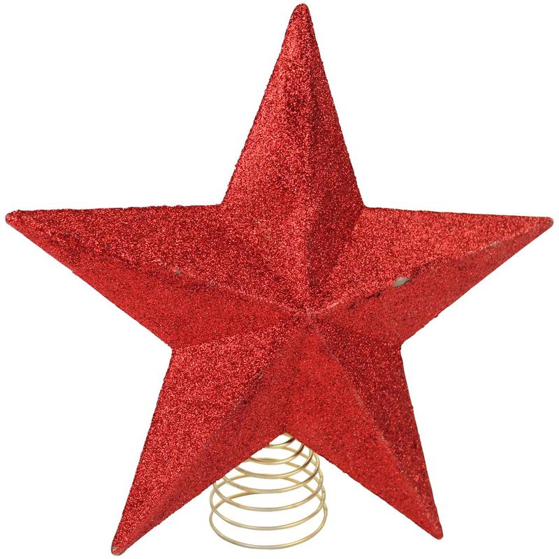 jetzt kaufen weihnachtsbaum stern spitzen rot der daro. Black Bedroom Furniture Sets. Home Design Ideas