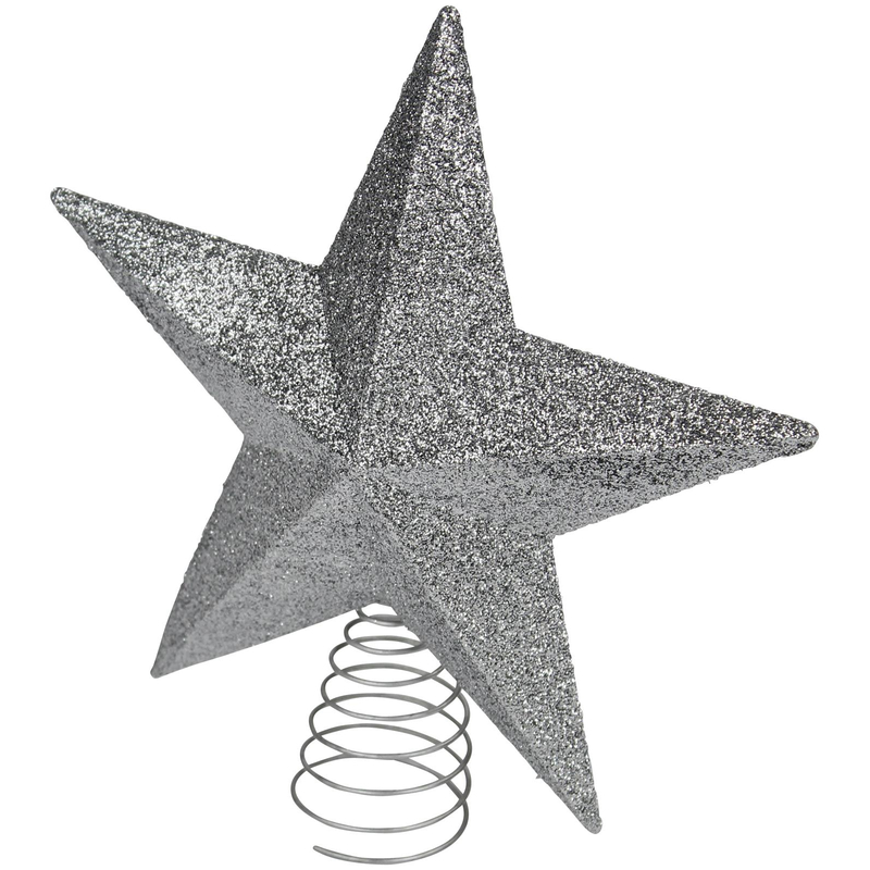 jetzt kaufen weihnachtsbaum stern spitzen silber der. Black Bedroom Furniture Sets. Home Design Ideas