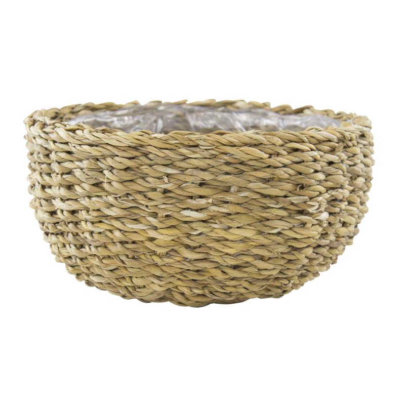jetzt kaufen seegras korb mit einsatz a rund flach 1 st ck m der daro deko online shop. Black Bedroom Furniture Sets. Home Design Ideas