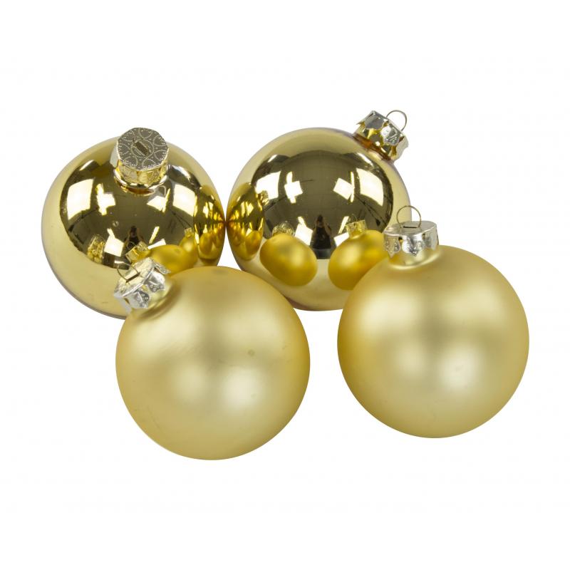 Jetzt kaufen weihnachtskugeln aus glas 20 st ck je 6 cm der daro deko online shop deko - Weihnachtskugeln aus glas ...