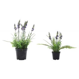 Jetzt Kaufen Lavendel Kunstlich Mit Topf Der Daro Deko Online