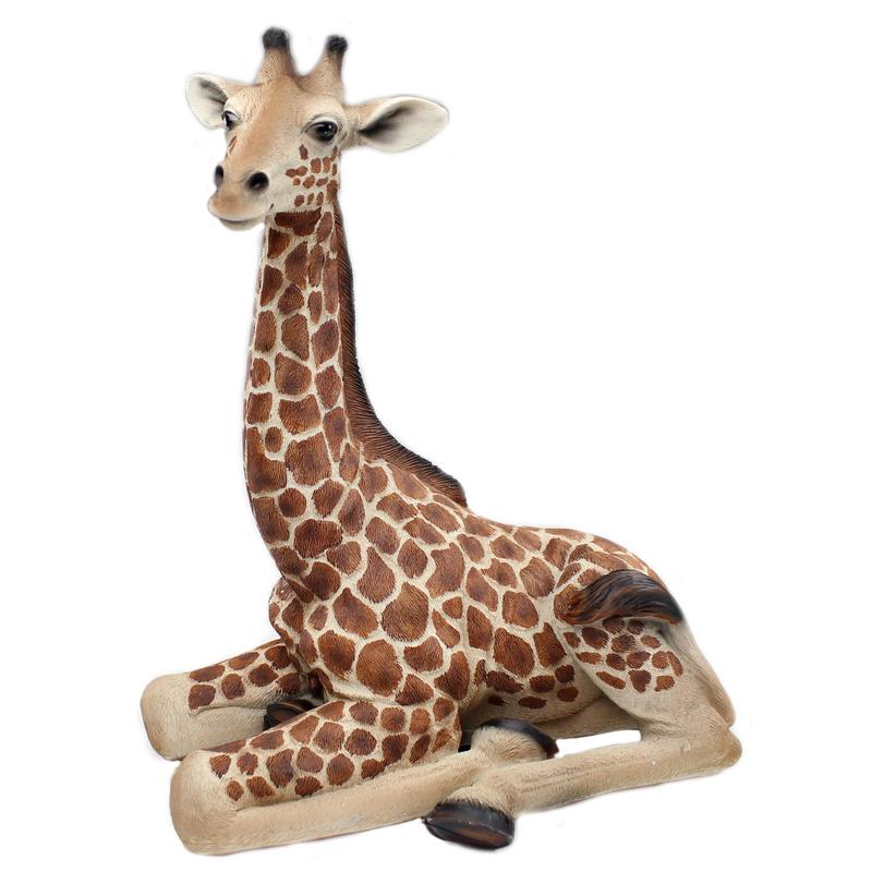jetzt kaufen deko figur giraffe a liegend der daro deko online shop deko aus. Black Bedroom Furniture Sets. Home Design Ideas