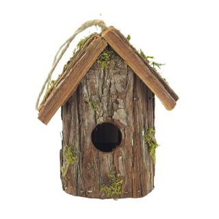 jetzt kaufen holz vogelhaus zum aufh ngen c 17 cm x 9 cm. Black Bedroom Furniture Sets. Home Design Ideas