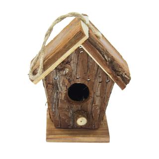 jetzt kaufen holz vogelhaus zum aufh ngen a 13 cm x 10. Black Bedroom Furniture Sets. Home Design Ideas
